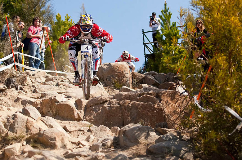Steve Peat, UCI World Championships, Canberra, Australia 2009. Photo by Sven Martin