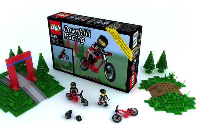 Downhill Mountain Bike LEGOs?