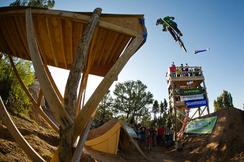 McGazza sending it at Ranchstyle 2011 - Photo by Tim Zimmerman