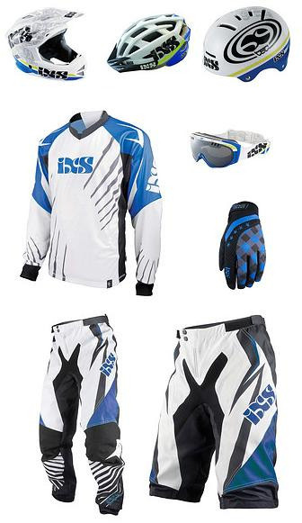 iXS Sports Division is the team's choice for helmets, gloves, clothing, and protection.