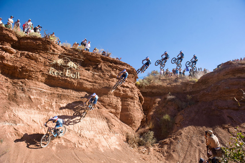 Gee Atherton at the 2010 Red Bull Rampage, Photo Credit: Ian Hylands/Red Bull Content Pool