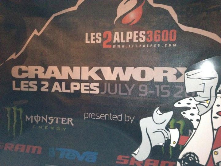 New Crankworx Festival at Les 2 Alpes, France