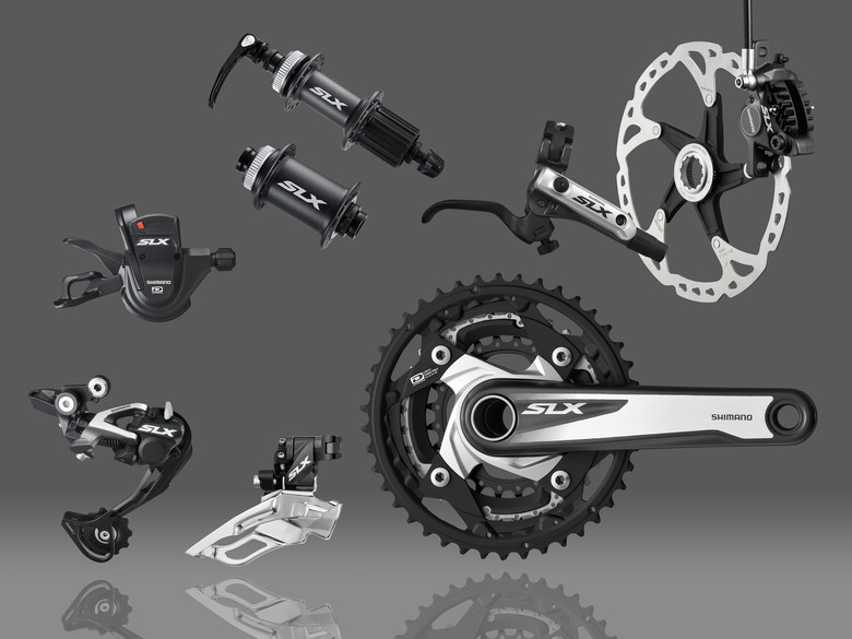 Trail Rider? Check Out Shimano's 2013 SLX Group and New Wheels