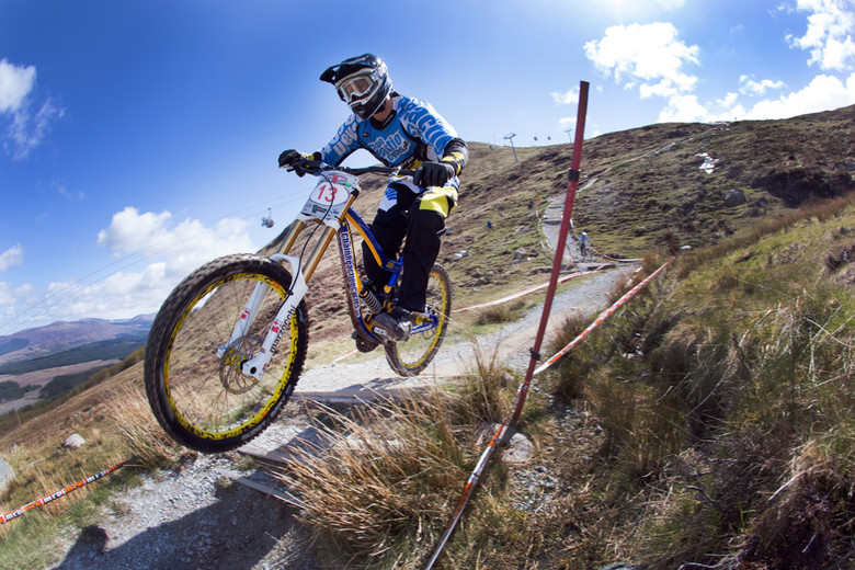 Matt Simmonds Finishes 3rd at The 2012 Halo BDS in Fort William