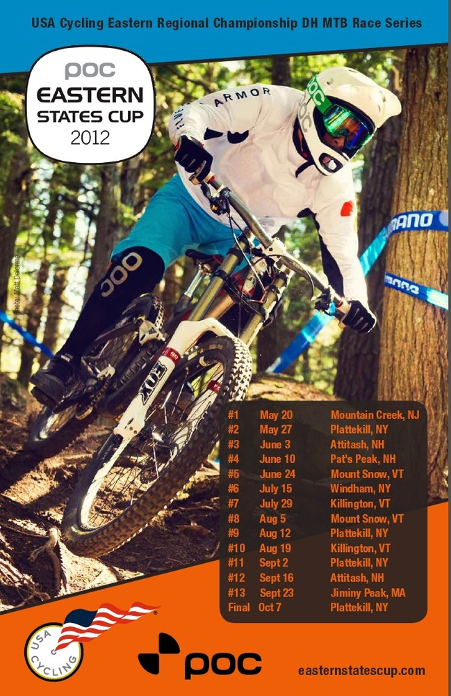 $10,000 Cash up for grabs at the POC Eastern States Cup Pro GRT's at Mountain Creek and Plattekill Bike Parks