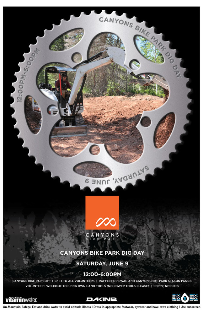Canyons Bike Park Dig Day, June 9