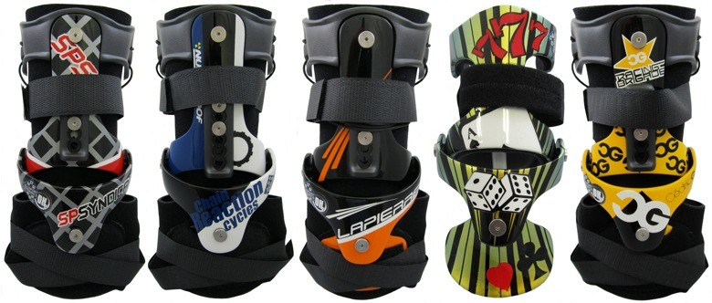 Win Custom Painted Allsport OH2 Carbon Wrist Braces