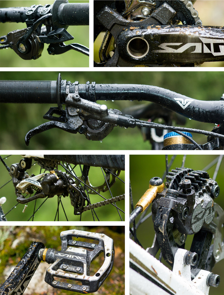 Tested: 2013 Shimano Saint Brakes, Derailleur, Cranks and More