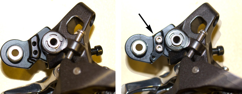 The included mode converter allows the new Saint derailleur to be compatible with close and wide ratio cassettes from 11-28 to 11-34, and essentially gives the derailleur more usable b-tension range. It was originally intended to only be needed when large cassettes are being used.