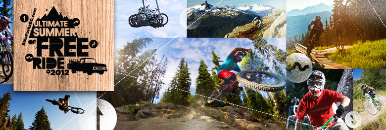 WINNERS ANNOUNCED FOR THE 2012 BIKE PARKS BC ULTIMATE SUMMER OF FREERIDE CONTEST