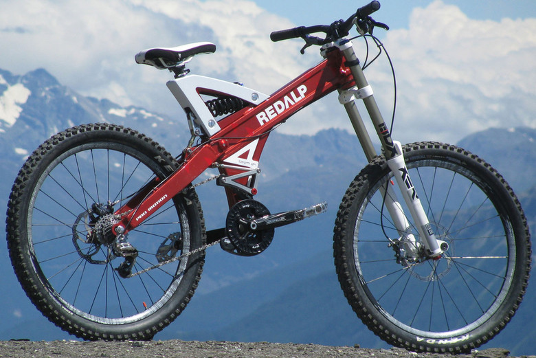 Something Different: Redalp's Downhill Bike