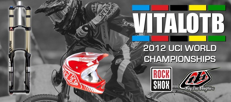 Win a RockShox BoXXer and Troy Lee D2 Helmet - Vital OTB, 2012 World Champs