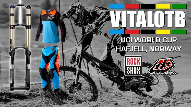 Win a RockShox BoXXer and TLD SE PRO Bike Kit - Vital OTB, 2012 Hafjell World Cup