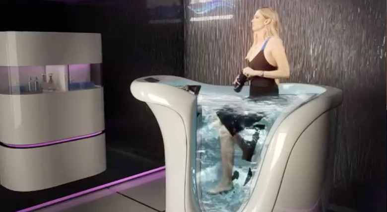For Real? The $18,000 Hot Tub Bike Machine - Fit Wet