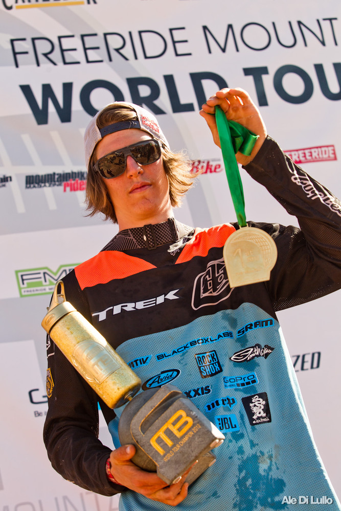 Brandon Semenuk is the 2012 FMB World Tour Champion