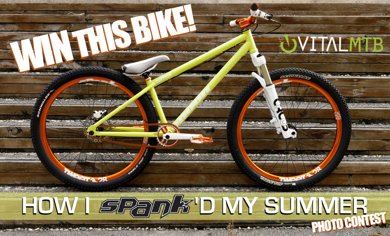 Win a Custom Spank Spoon One2One Dirt Jumper!