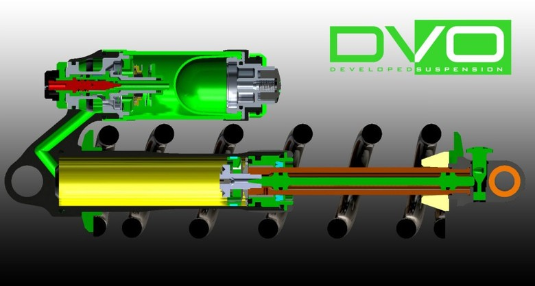 DVO's Jade Coil Shock Inner Workings Revealed