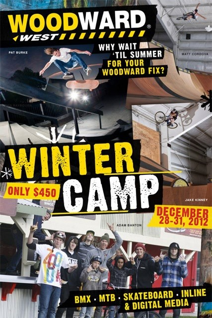 Woodward West Winter Camp December 28-31 2012