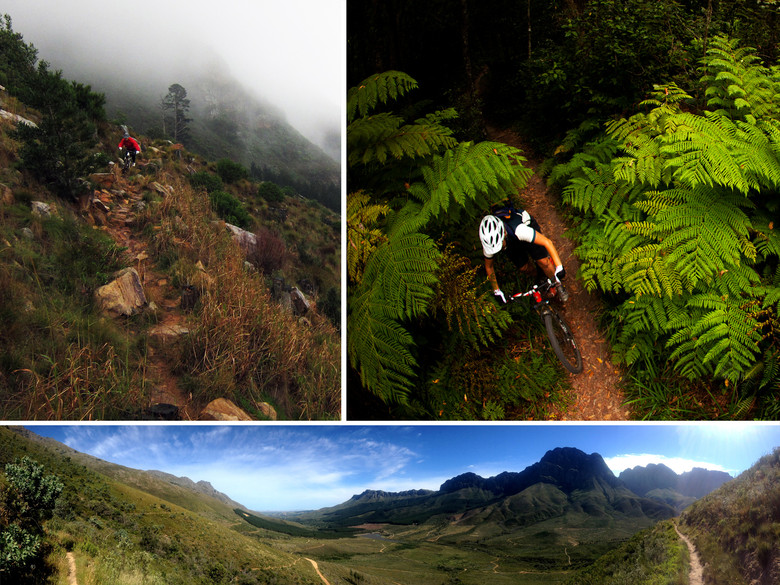 Flipper's backyard, the land and trails of South Africa. photo by Gary Perkin