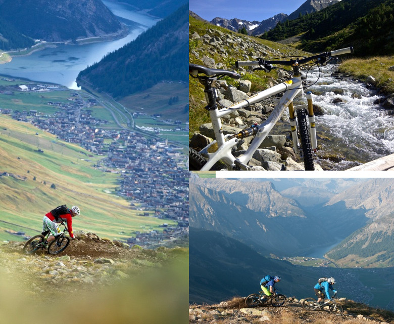 Livigno descents.