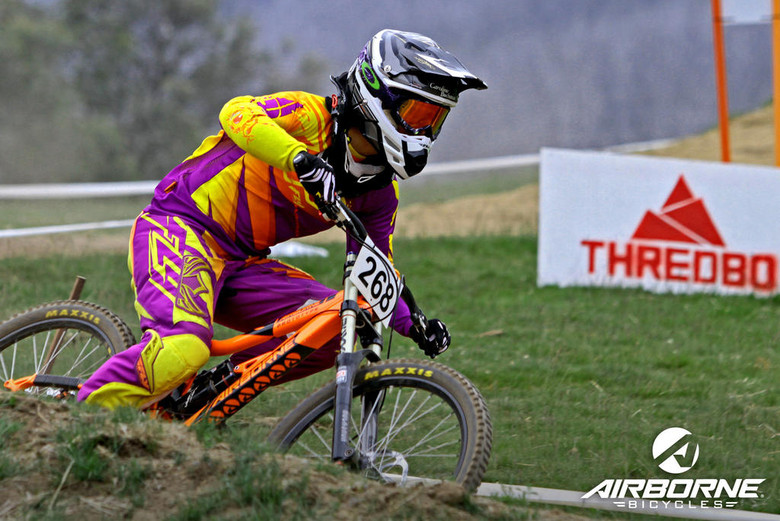 Airborne Bikes Signs Caroline Buchanan, Leaks New DH Bike