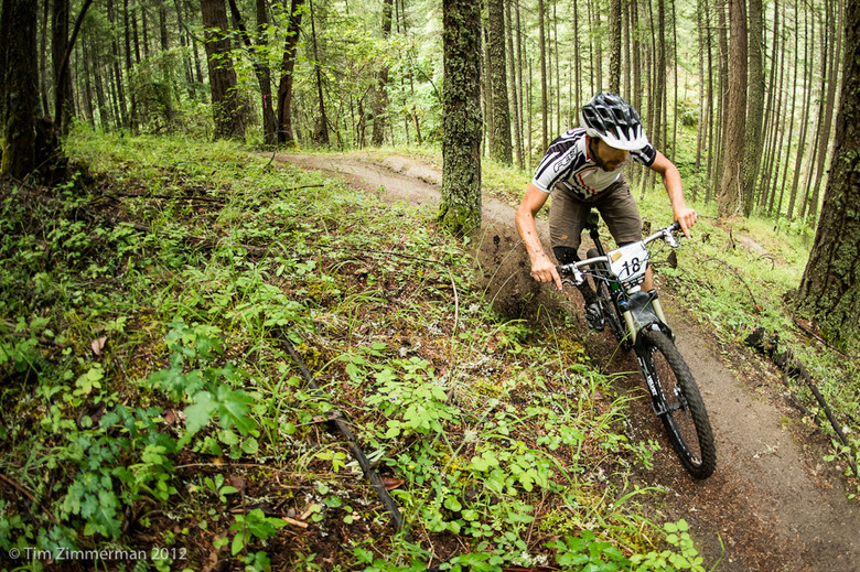Casey during the Oregon Enduro Series in 2012. photo by Tim Zimmerman