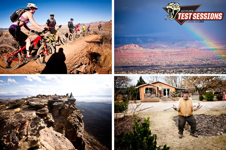 We invite you to join us for the ride, to dream of warmer weather, to shred turns, rally rock gardens, drool over bikes, talk tech, and have some fun starting with our first trail bike review from Test Sessions dropping February 11.