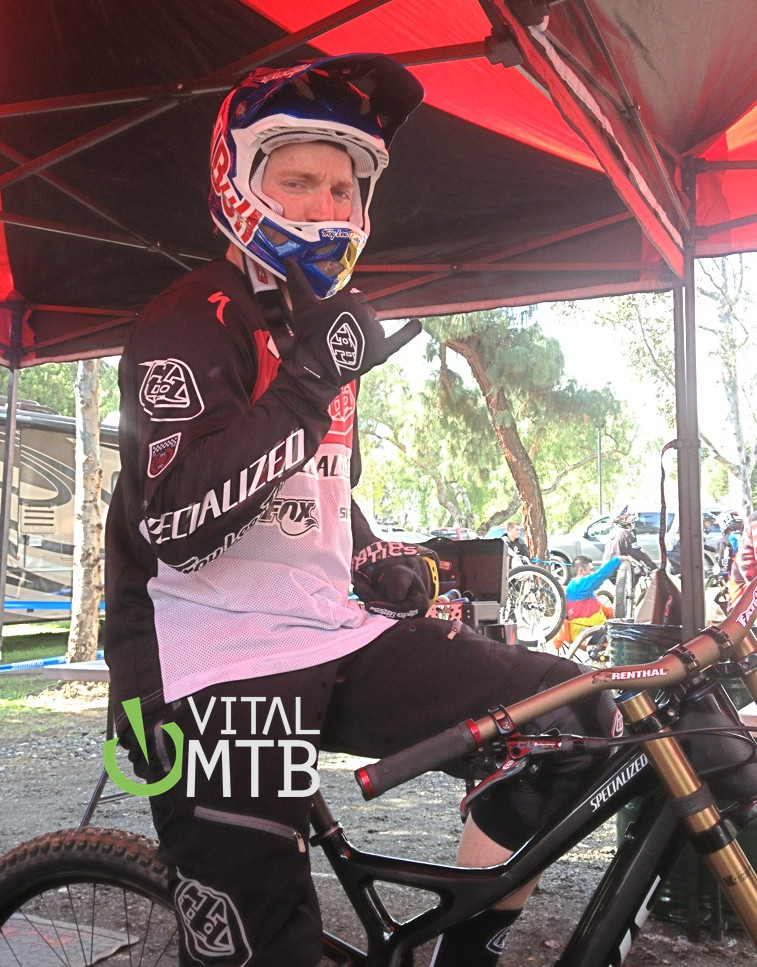 Aaron Gwin on His New Specialized S-Works Demo 8
