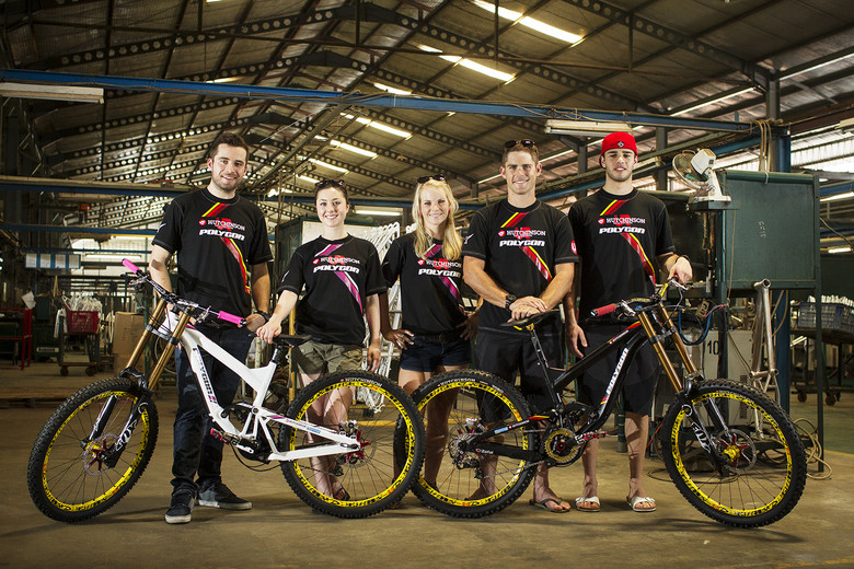Hutchinson United Ride on Polygon Bikes for 2013