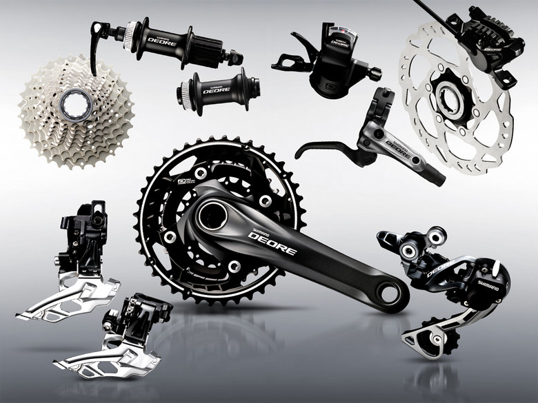 DEORE M610 Groupset Black
