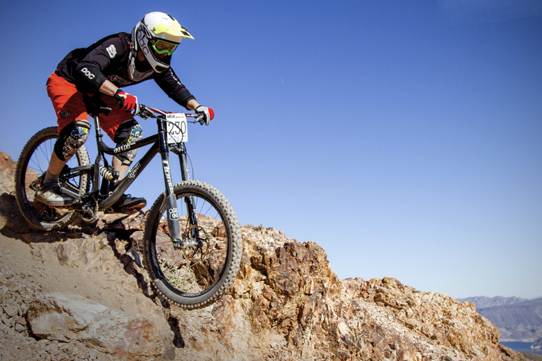 Guerrilla Gravity's engineer and designer, Matt Giaraffa, is no slouch on a bike.