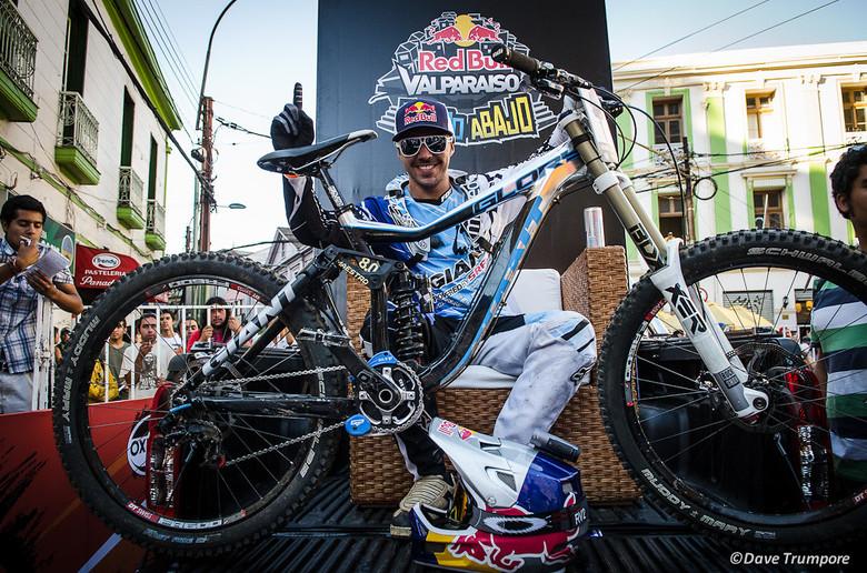 Marcelo Gutierrez, winner of the 2013 VCA - photo by Dave Trumpore