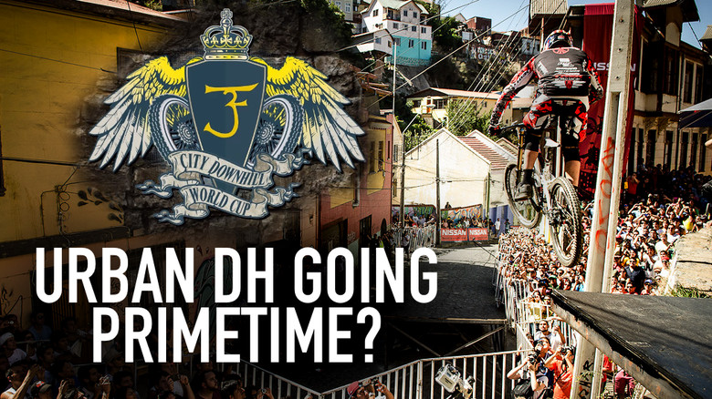 Urban DH Going Primetime - City Downhill World Cup Launched