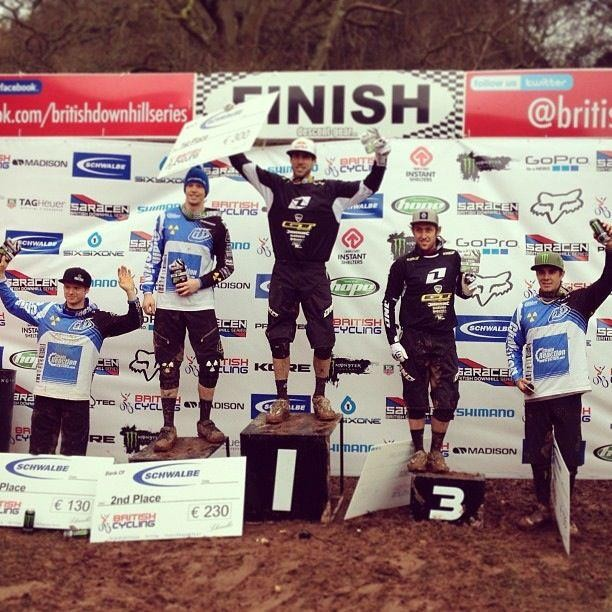 Race Results: Gee Atherton Wins British Downhill Series 1, Combe Sydenham