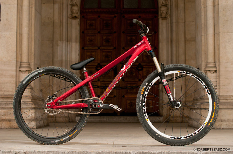Pro Bike Check: Martin Soderstrom's Specialized P3 Signature Hardtail