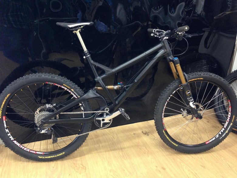 Prototype GT Enduro bike - photo credit: Atherton Racing
