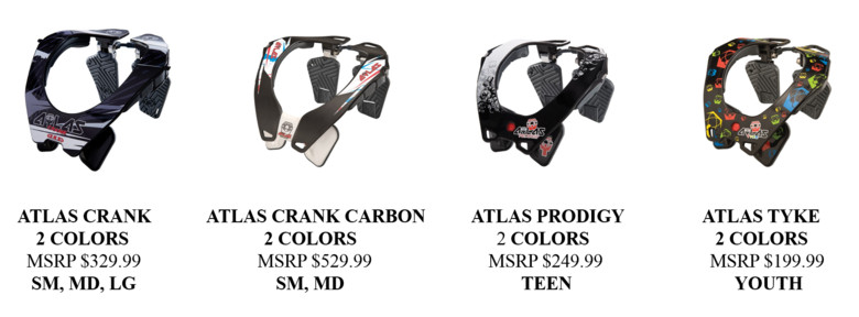 Atlas Brace Technologies Is Now Shipping The Atlas Cycling Neck Braces