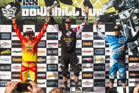 Gee Atherton Wins DH at iXS Dirt Masters Festival
