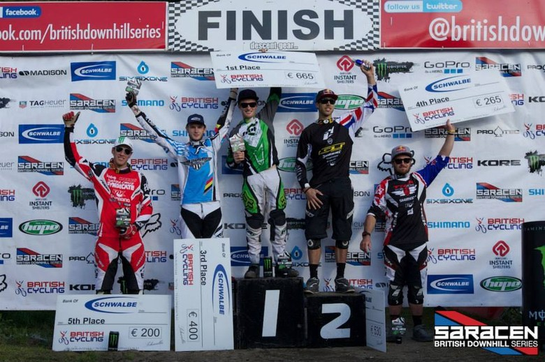 Men's Elite podium