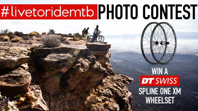 WINNER ANNOUNCED - DT Swiss #livetoridemtb Photo Contest