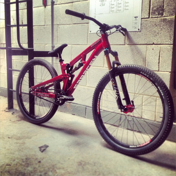 Sneak Peek: Saracen's Updated Prototype Slopestyle Frame