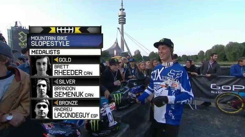 Brett Rheeder wins