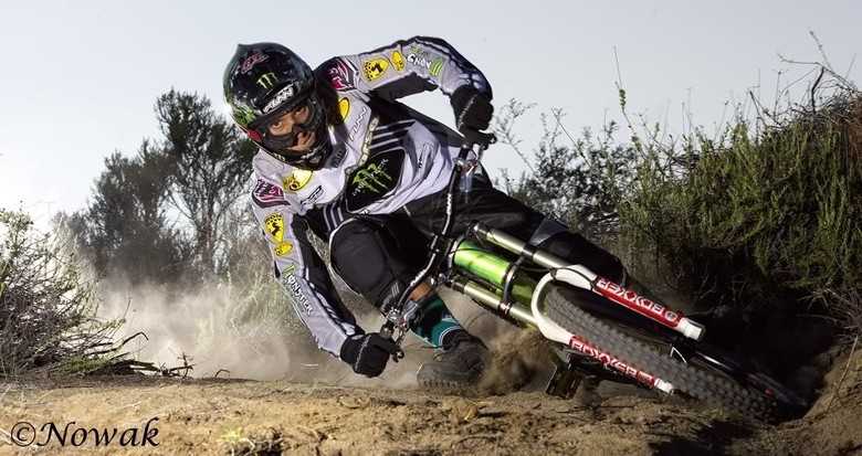 Sam Hill on his Iron Horse Sunday by Nowak