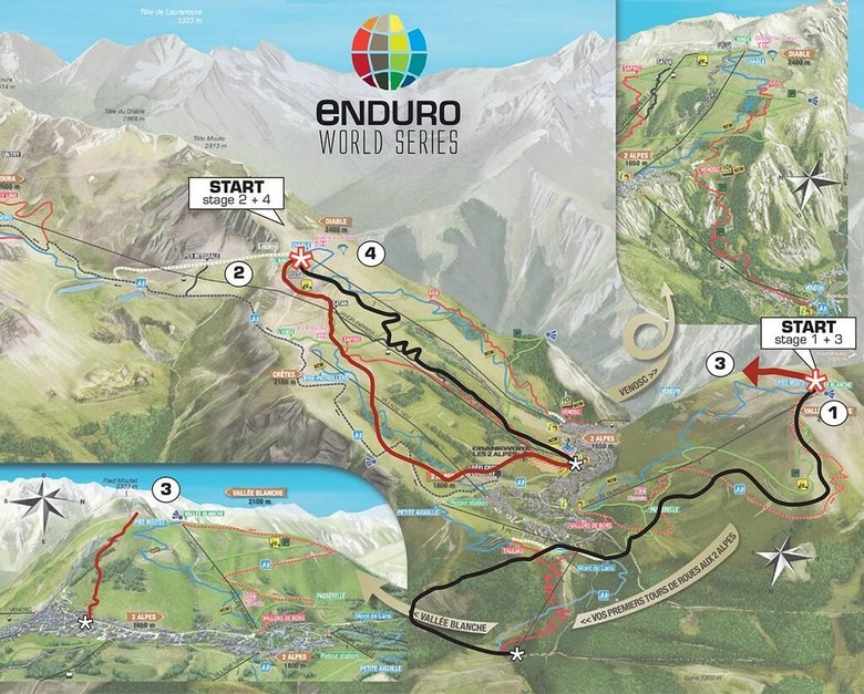 Pressure Intensifies As Enduro World Series Moves To Crankworx Les 2 Alpes, July 6-7, For Round 3
