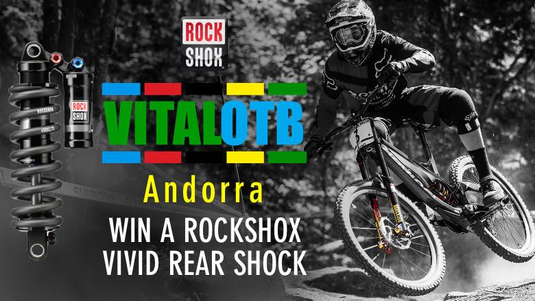 Win a RockShox Vivid Rear Shock - Vital OTB Andorra