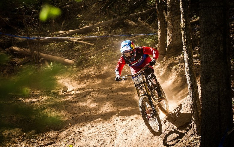 RESULTS: Aaron Gwin, Jill Kintner Earn 2013 U.S. National Championship Downhill Victories