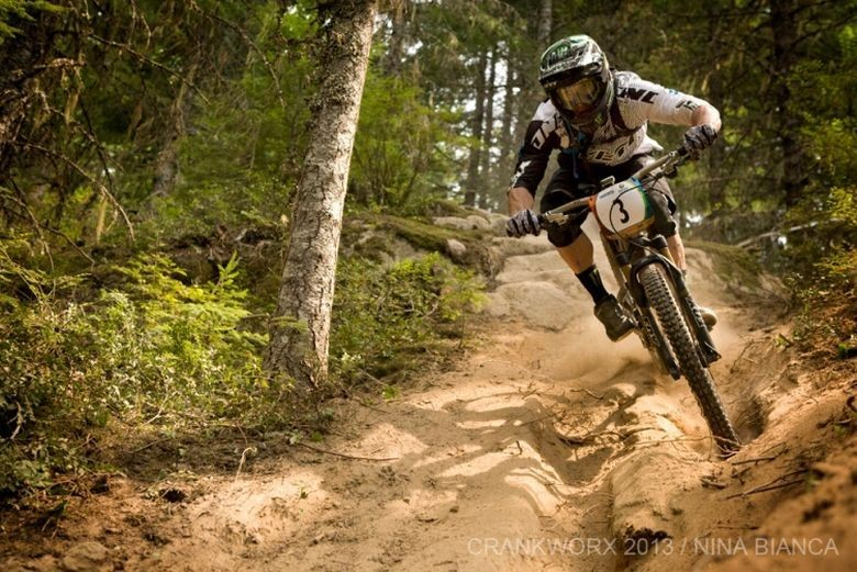 Jared Graves and Anne-Caroline Chausson Win EWS Crankworx Whistler