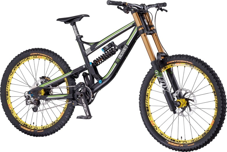 Sneak Peek: 2014 Rose 'The Unchained' DH Bike