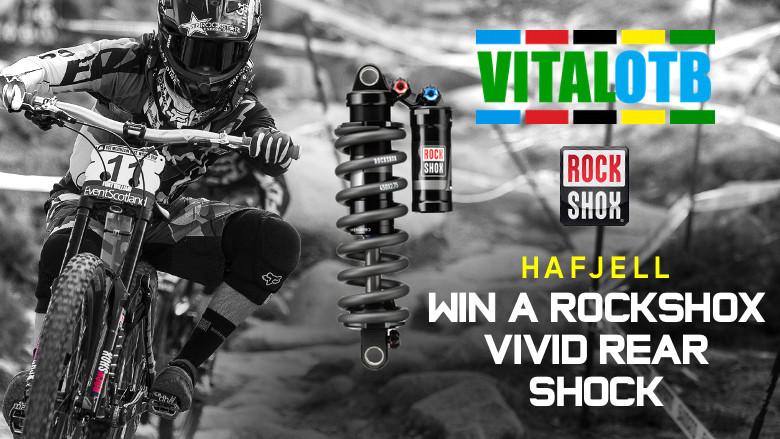 Win a RockShox Vivid Rear Shock - Vital OTB Hafjell