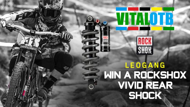 Win a RockShox Vivid Rear Shock - Vital OTB Leogang